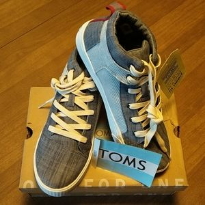 TOMS Camila High Chambray Hightops